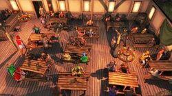 CROSSROADS INN Ep. 1 New Tavern Management & Hotel Building Simulator Gameplay