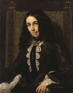 Elizabeth Barrett Browning by Michele Gordigiani 1858