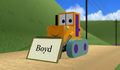 MMD Boyd nameboard promo