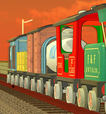 Bonnie's Rolling Stock