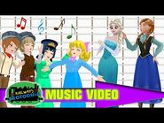 """""""Here We Come A-Caroling"""" Music Video! - The Railways of Crotoonia"""