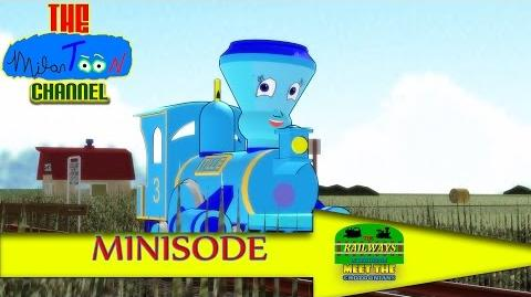 THE RAILWAYS OF CROTOONIA in MEET THE CROTOONIANS (Ep. 4) Tillie and the Troublesome Trucks