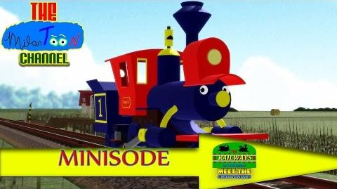 THE RAILWAYS OF CROTOONIA in MEET THE CROTOONIANS (Ep. 3) Casey Jr's Trick