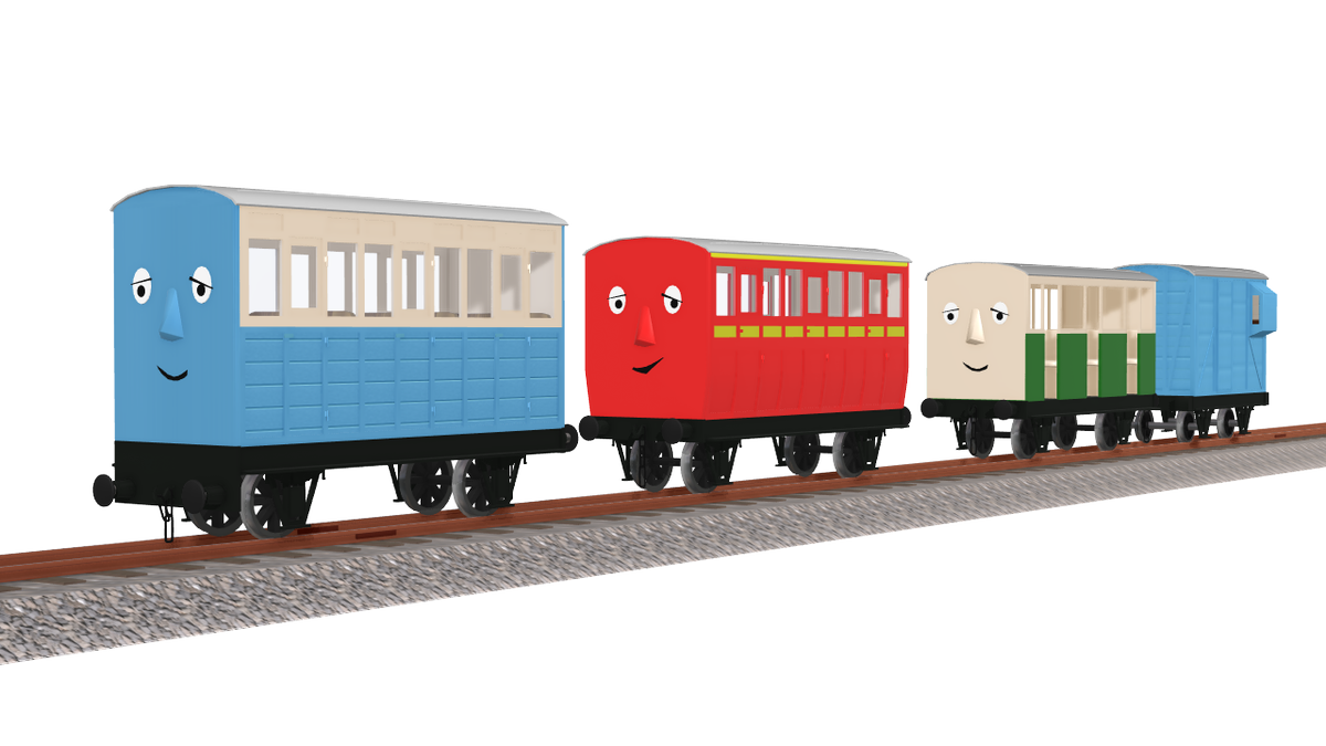 Skarloey Railway Coaches