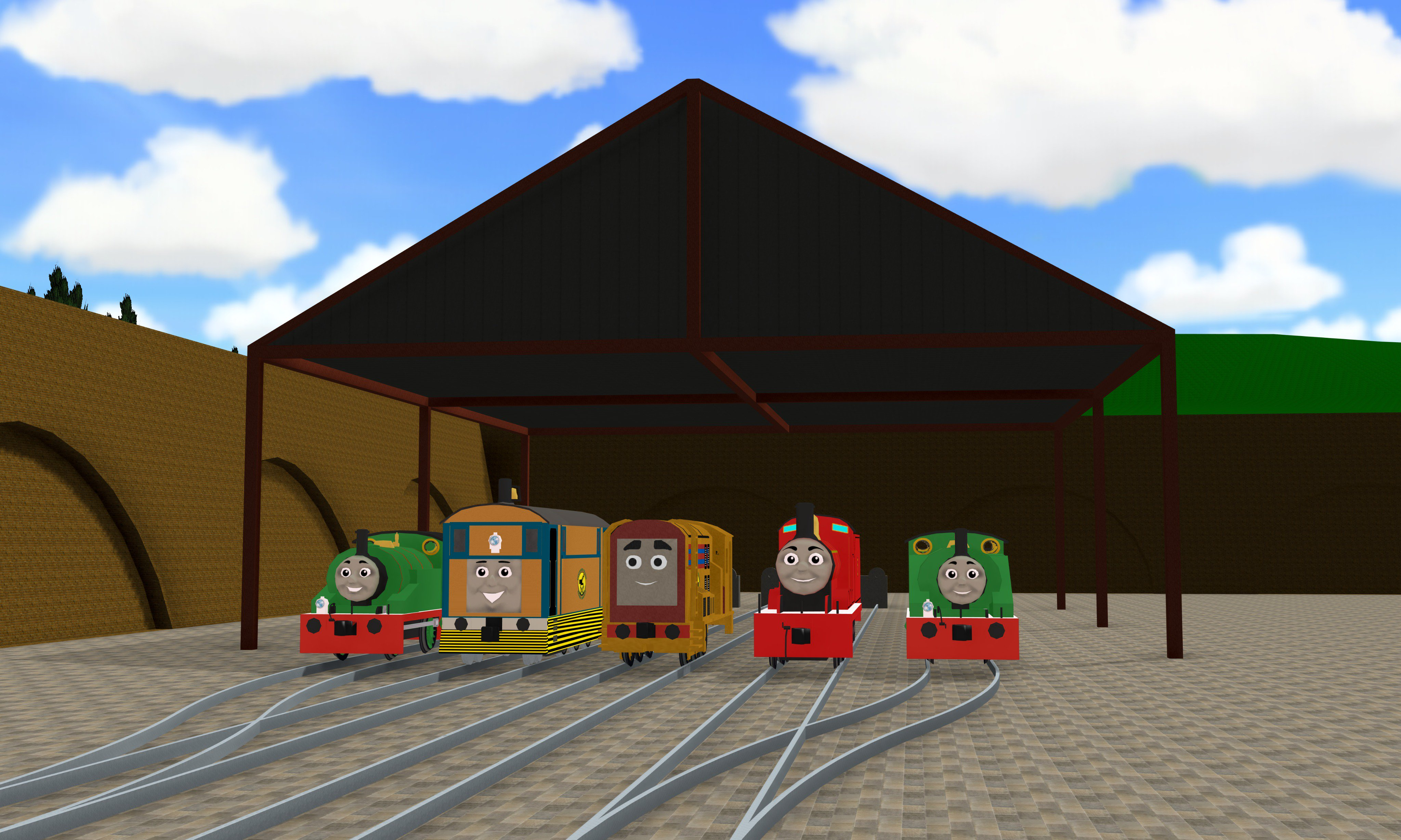 Minor Pinewood Island Engines