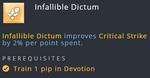 Talent - Templar - Infallible Dictum.png