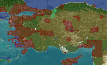 Core Territory of Turkey