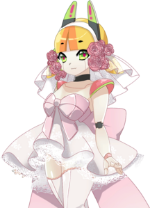 WEDDING girl odango neutral
