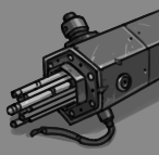 Exhausted Fuel Rod