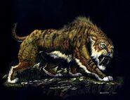 Ennedi Tiger on Prowl (Crypid)