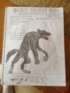 Cryptid sketch beast of bray road by strikerprime-d83j8j1