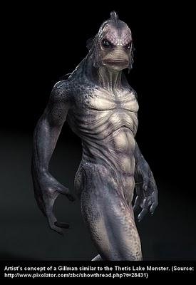 Thetis Lake Monster