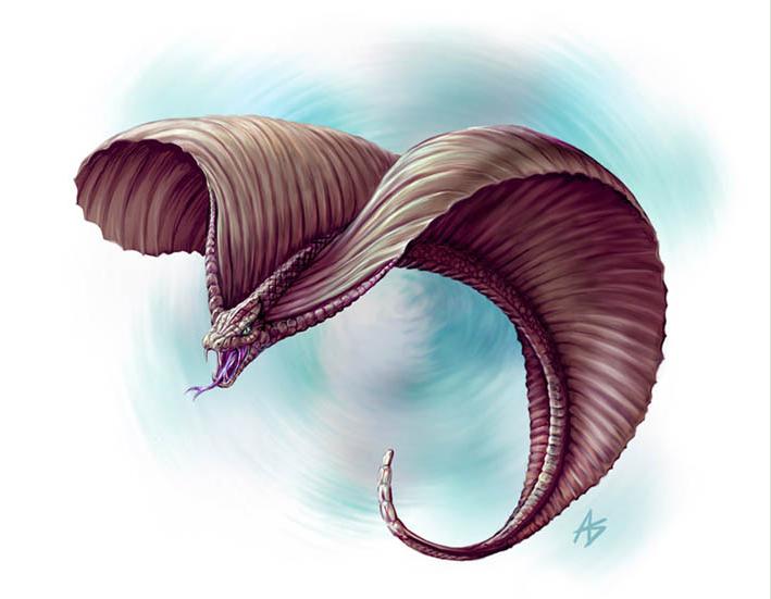 Namibian Flying Snake