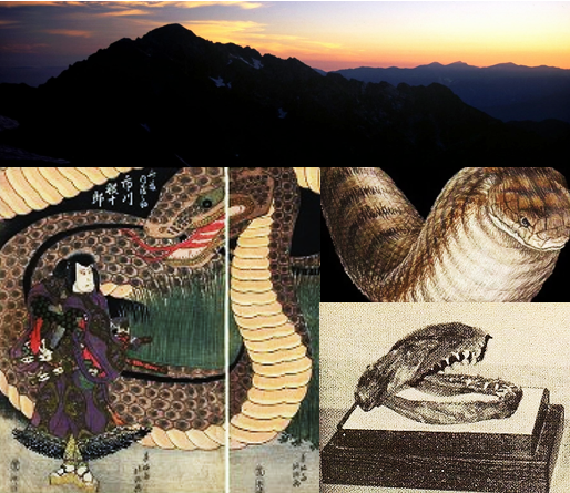 Giant Snake of Mt. Tsurugi