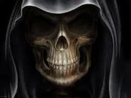 The Grim Reaper skull