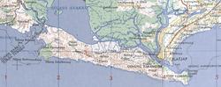 Nusakambangan map from AMS in UTexas Library.png