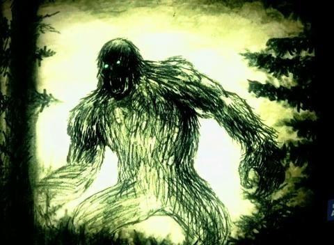 Alien Bigfoot