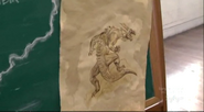 Lizard Man Drawing