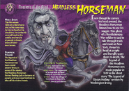 Headless Horseman Monsters of the Mind