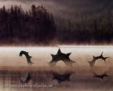 Lake Storsjon Monster