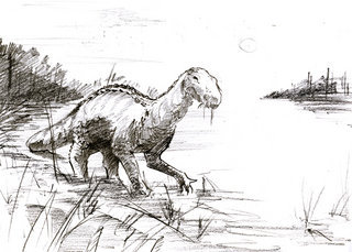 New Guinean Iguanodon