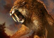 Roaring Ennedi Tiger (Prehistoric)