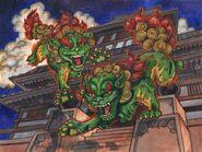 Fu Lions (Guardins of China)