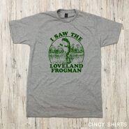 Loveland Frogman tee