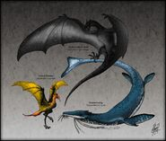 Dracomorpha the reptiles of fire sea and sky by thejuras dbjvdbc-fullview