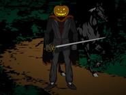 Headless Horseman with Pumpkinhead