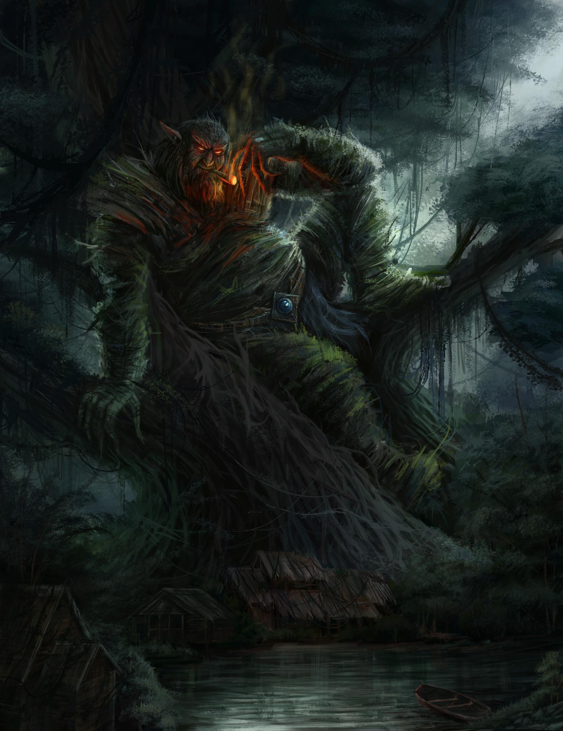 Matorepo Wera (Green Swamp Demon)