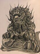 Fu Lion (Tattoo)