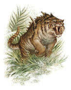 Ennedi Tiger Sabertooth (Cryptid)
