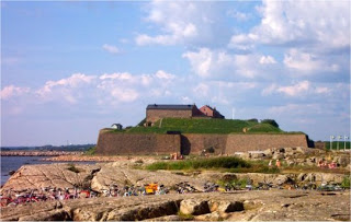 Varberg Fortress Moat Monster