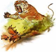 Hunting Ennedi Tiger (Crypid)