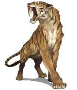 Tiger-like Sabretooth (Crypid)