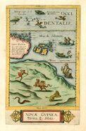 Novae Guineae Forma & Situs G. de Jode 1593