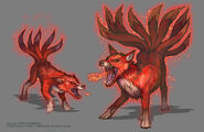 Fire Kitsune