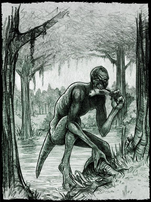 Lizard Man of Scape Ore Swamp