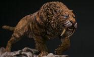 Tiger-like Smilodon (Prehistoric)
