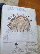 Cryptid sketch el cuero by strikerprime-d88bx19