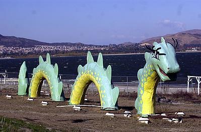 Lake Elsinore Monster