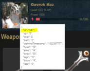Character ID