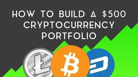 How To Build A Crypto Portfolio With Only $500!