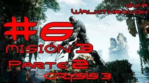 Crysis 3 Español Parte 6-Misión 3 Parte 2-El origen de todo mal Guía HD PC PS3 X360
