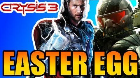 Crysis 3 Easter Egg Thor's Hammer