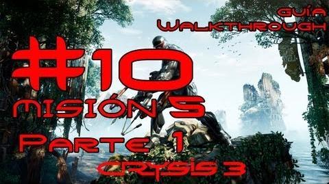 Crysis 3 Español Parte 10-Misión 5 Parte 1-Estrella Roja Naciente Guía HD PC PS3 X360