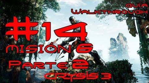 Crysis 3 Español Parte 14 Misión 6 (2 3) - Solo Humano Guía HD PC PS3 X360