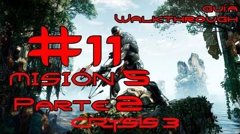 Crysis 3 Español Parte 11-Misión 5 Parte 2-Estrella Roja Naciente Guía HD PC PS3 X360