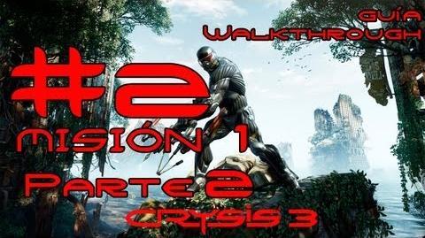 Crysis 3 Español Parte 2-Misión 1 Parte 2-Post Humano Guía HD PC PS3 X360